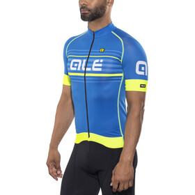Alé Cycling Graphics PRR Salita Maillot manches courtes Homme, blue-fluo yellow